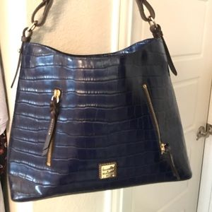 Dooney and Bourke Cooper Hobo bag in midnight blue